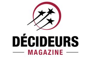 décideurs magazine logo opération